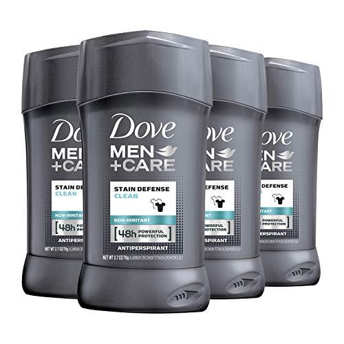 Dove Men+Care Antiperspirant Deodorant 48-hour anti-stain Protection Invisible Deodorant For Men 2.7 oz, 4 Count
