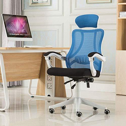 Wohnaccessoires Das liegende E-Sports-Schwammnetz für das Home Office kann den Drehstuhl um 360 Grad drehen (Farbe: B) Schwarz