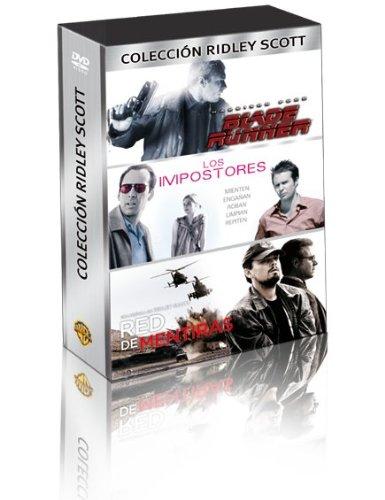Pack Ridley Scott (Blade Runner, Red De Mentiras, Los Impostores) [DVD]
