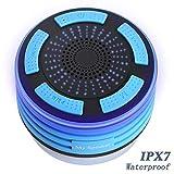 YWSZY LED Bluetooth Haut-Parleurs Étanche Ipx7 Portable Colonne De Douche Radios De...