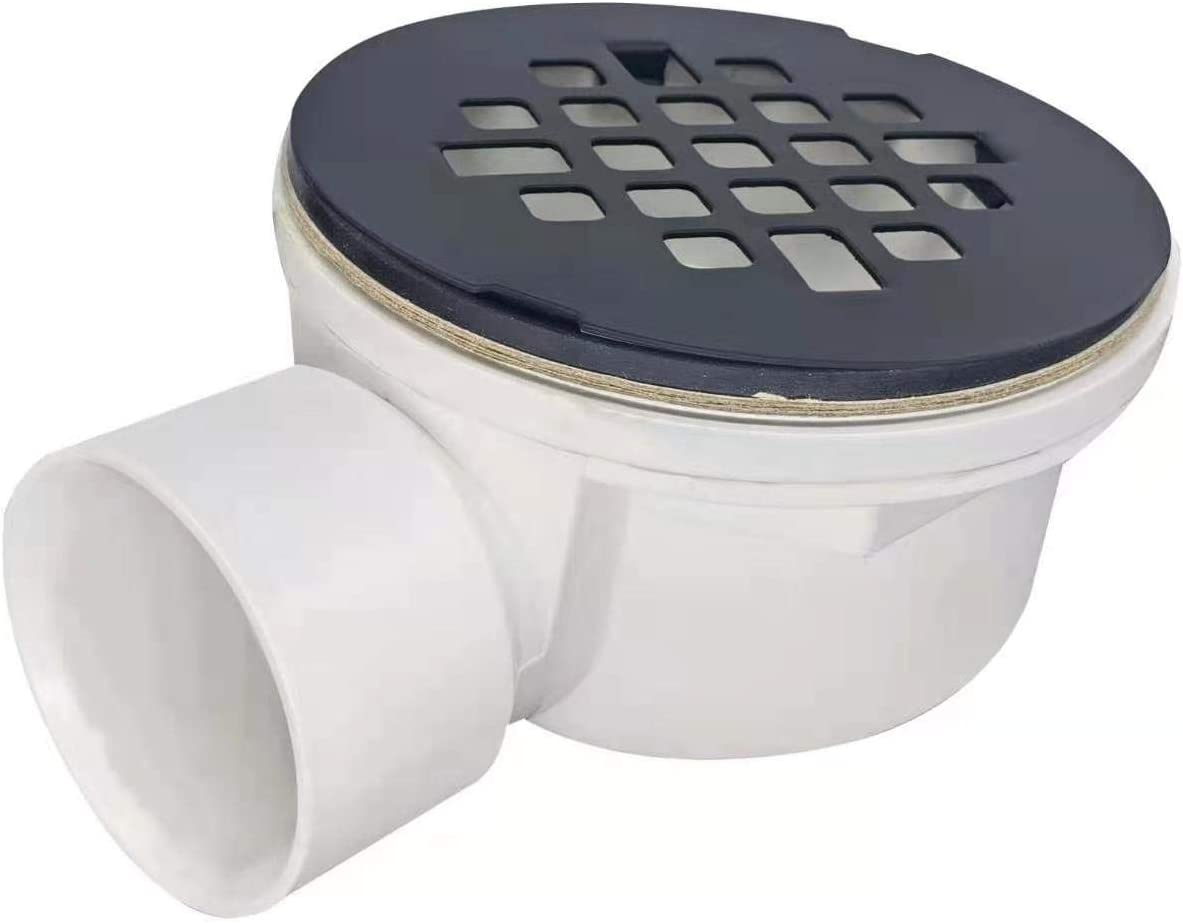 BlueVue 1.5 Side Outlet Drain Assembly Brushed Gold