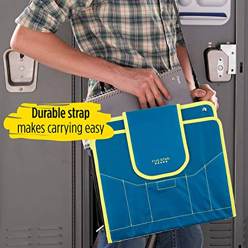 Five Star Sewn Zipper Binder, 2 Inch 3 Ring Binder With 4 Inch Capacity, Assorted Colors, Color Selected For You, 1 Count (28044) Photo #25