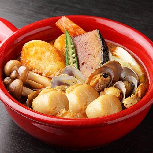 スープカレー レトルト 北海道極旨スパイシーホタテスープカレー 2食 ゴロっと具材 札幌スープカレー