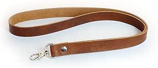 genuine leather lanyard