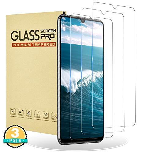 RIIMUHIR Cristal Ultra Templado para Huawei P30 Lite,[3 Unidades] Cobertura Total de Vidrio Templado 3D para Huawei P30 Lite, Dureza 9H,Anti-Arañazos,Sin Burbujas,HD,Anti-Huellas