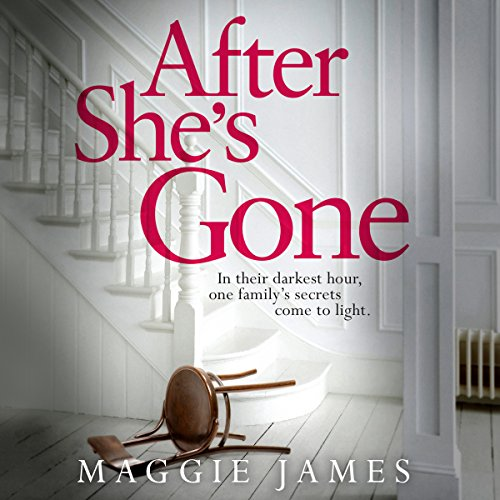 After She's Gone                   By:                                                                                                                                 Maggie James                               Narrated by:                                                                                                                                 Heather Wilds                      Length: 8 hrs and 38 mins     45 ratings     Overall 3.6