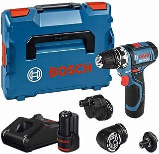 Bosch Professional 12V System sladdlös borrskruvdragare GSR 12V-15 FC (med 2x2,0 Ah-batterier, i L-BOXX)