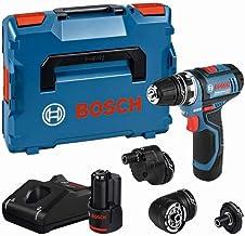 System profesjonalny 12 V firmy Bosch: wiertarko-wkrętarka akumulatorowa GSR 12V-15 FC (2 akumulatory 2,0 Ah i ładowarka, ...