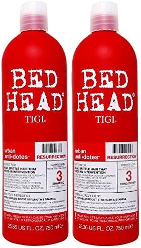TIGI Bed Head Resurrection Shampoo/Conditioner (25.36oz) Set, White, 50.72 (TIG-5831)