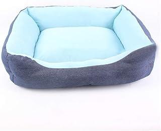 Laishutin Cama del Animal Doméstico Puppy Kennel Teddy Bomei Nest Pet Kennel Seda de Hielo Kennel Cat Litter Uso en Interi...