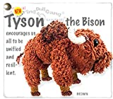 Kamibashi Tyson The Bison The Original String Doll Gang Keychain Clip