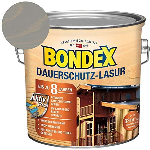 Bondex Dauerschutz-Lasur Grau 2,50 l - 377907