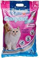 Vitakraft VK27526 Compact Ultra Charcoal Clumping Cat Litter 7kg