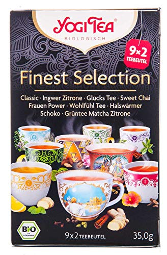Yogi Tea Finest Selection, Bio, 18 St., 34,6g