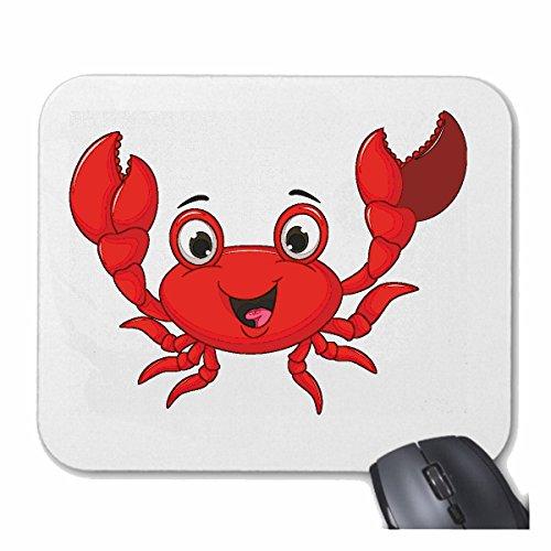 Tapis de souris Mousepad (Mauspad) CANCER MERRY AVEC CISEAUX CANCER ANIMALE CANCER brun crevettes crevettes pour votre ordinateur portable, ordinateur portable ou PC Internet .. (avec Windows Linux,