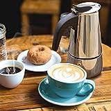 Zoom IMG-1 godmorn caffettiera moka espresso in