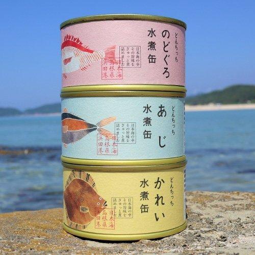 どんちっち缶詰 どんちっち魚 3缶×2セット