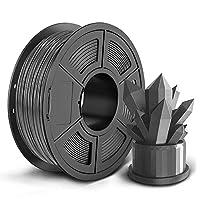 Ankun3Dプリンター用PLAフィラメント 精度 +/- 0.02mm高密度PLAフィラメント【1kg 1.75mm】 環境に優しい純正材料高強度PLA樹脂 3Dプリンター3Dペン用 スプール造形材料(PLAフィラメントグレー・Gray・灰色)