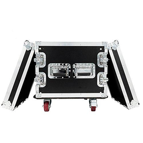 Best Deals! Brian Constance 19 8U Single Layer Double Door DJ Equipment Cabinet