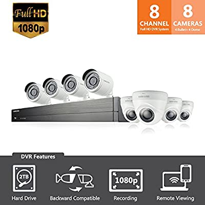 Samsung Channel Security Camera System Dome Cameras
