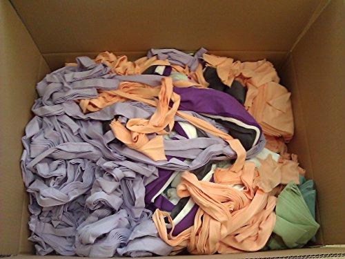 Dukal Boxsackfüllung 17 KG, 100% saubere Textilreste aus Baumwolle