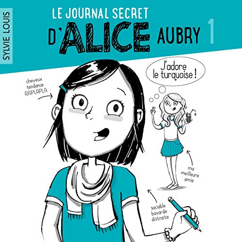 Page de couverture de Le journal d'Alice tome 1