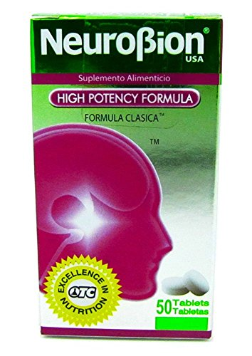 NeuroBion High Potency Formula Dietary Supplement 100 Tablets