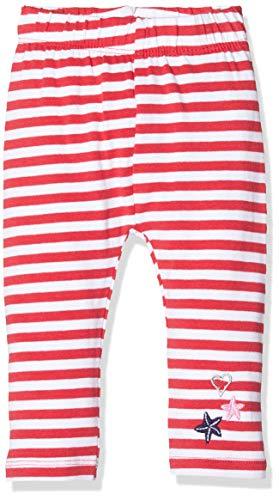 Salt & Pepper Baby-Mädchen 03215205 Leggings, Rot (Lollipop Red 344), (Herstellergröße: 62)