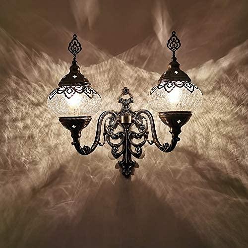 DALUXE Mano turca/marroquí/Tiffany/Bohemia de Doble Vidrio Mosaico Mosaico Mural