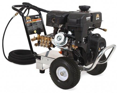 Mi-T-M CM-4000-1MMB Cold Water Direct Drive, 420cc Mi-T-M OHV Gasoline Engine, 4000 PSI Pressure Washer