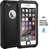 ASAKUKI IP68 Waterproof Case Compatible For iPhone 5 5S SE,