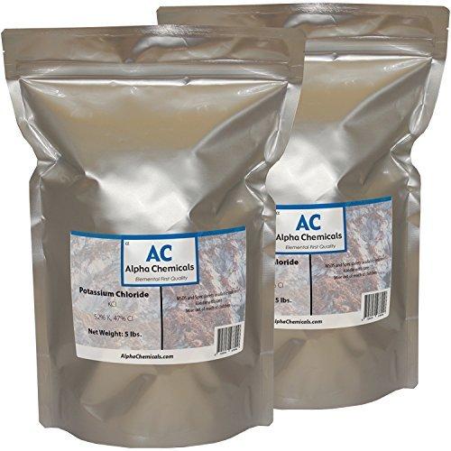 Potassium Chloride - KCl - 10 Pounds
