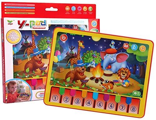 Jouets multi-fonctions d'apprentissage machine, les enfants animaux plat Music Box Toy Tablet, cadeaux Creative Education