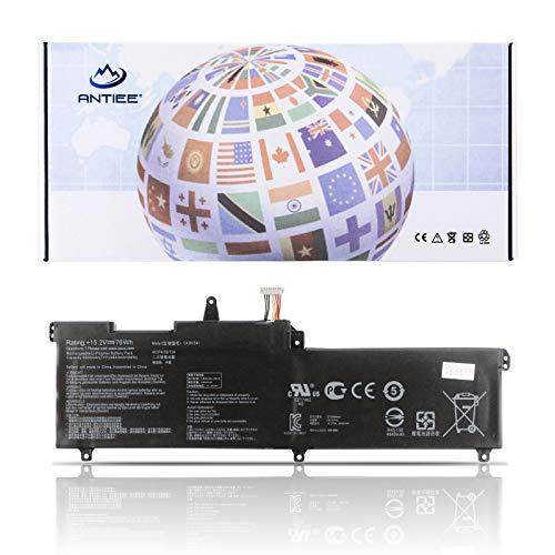 ANTIEE 76Wh C41N1541 Laptop Batería para ASUS ROG Strix GL702V GL702VS GL702VS-BI7N12 BA023T GL702VSK GL702VT-GC026T GC018T GL702VM GL702VM1A GL702VM-DB71 DB74 GL702ZC-GC190T GC098T 0B200-02070000
