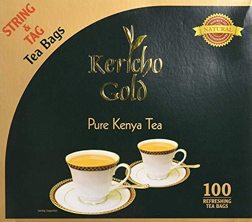 Kericho Gold Tea bags- Kenyan Black Tea String Bags - PACK OF 2