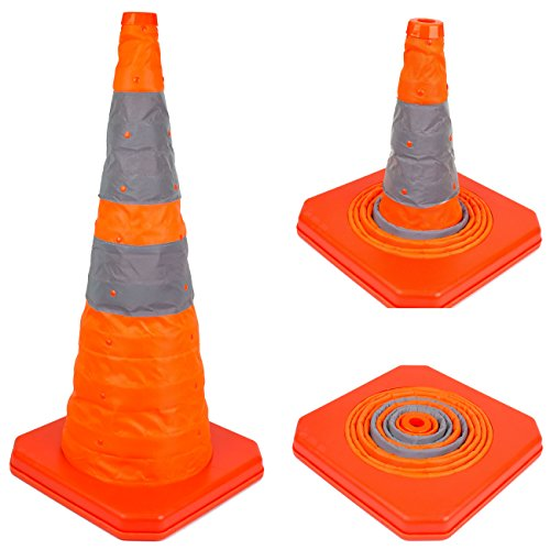 "28"" RK Collapsible Traffic Emergency Cone, CONECC28 (1-Pack)"