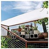 Velas de Sombra para Patio Rectangular Toldo Velas De Sombra para Patio, Sobrecielo Protector De Sol Viento Cortinas Protección De Rayos UV Toldos para Jardín, Piscina Y Terraza 17 Tamaños