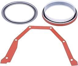 Crankshaft Oil Seal, 3Pcs Rear Main Crankshaft Oil Seal Kit with Steel Installer for Cummins 3925529