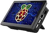 Monitor de Pantalla Táctil Raspberry Pi, EVICIV 7 Pulgadas Pantalla IPS...