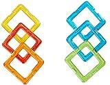 MAGFORMERS 2042611 27403 Quadrat Spielzeug, 6er Set