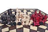 3 Tres Jugadores Juego De Ajedrez - MEDIO - REGLAS INCLUIDO