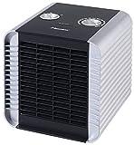 Bestron ACH1500S Calefactor, Termostato, Control de Temperatura, 750 W, 1500 W, Plástico, Plateado