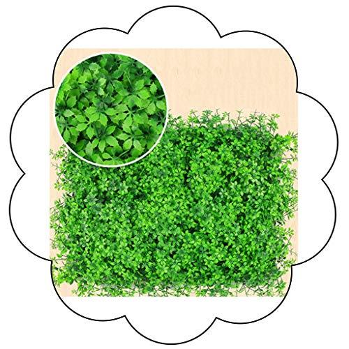 XEWNEG Mur De Couverture Végétale Artificielle, Vie Privée Clôture Écran Verdure Mur Couverture for Jardin Maison Extérieur Intérieur Cour Arrière Décoration (23.62x15.75 Pouces) (Color : A)
