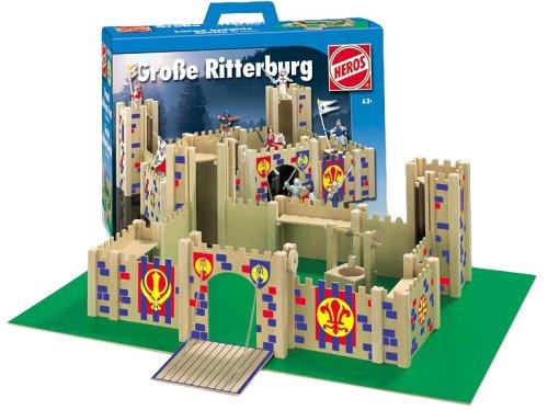 Heros - Große Ritterburg, Holz, 62 Teile
