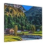 Garmisch Partenkirchen Wald Sommertal Wandkunst abstrakte