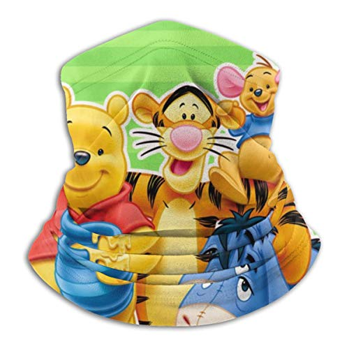 Win-nie The Pooh Mask & Shield Face Mask Shield Protective Balaclava Men & Women - Comfortable & Breathable Face Cover Thermal Retention & Safety