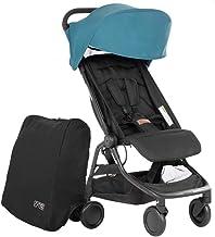 Mountain Buggy Nano V3 (2020+) Cochecito en color azul, incluye bolsa de viaje