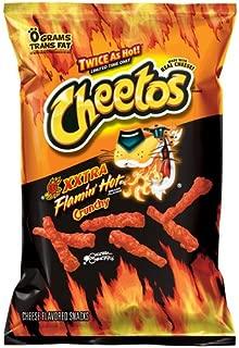 Cheetos XXtra Flamin' Hot Crunchy Flavor Snacks, 3.75oz (28 Pack)