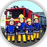 Premium Esspapier Tortenaufleger Feuerwehrmann Sam T2 -