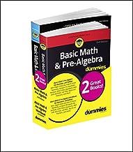 Basic Math and Pre-Algebra Workbook For Dummies & Basic Math and Pre-Algebra For Dummies Bundle (For Dummies Math & Science)